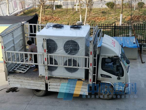新乡山楂糕空气能热泵烘干一体机发货 烘房箱体客户自行建造
