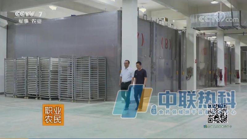 山东某玫瑰花集团引进14套连体空气能热泵隧道式烘干机设备烘干玫瑰花收集花露