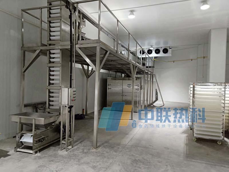 农夫山泉进口巴旦木采用空气能热泵烘干机设备