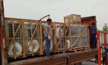 一批热泵烘干设备发往江苏